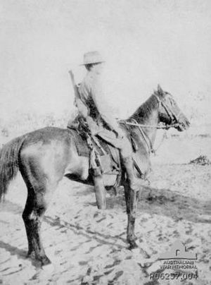 7th Light Horse Regiment (Australia) - 7th Light Horse Regiment signaller