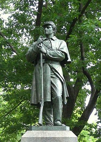 7th New York Militia - 7th Regiment Memorial, Central Park
