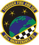 85 Maintenance Sq emblem.png