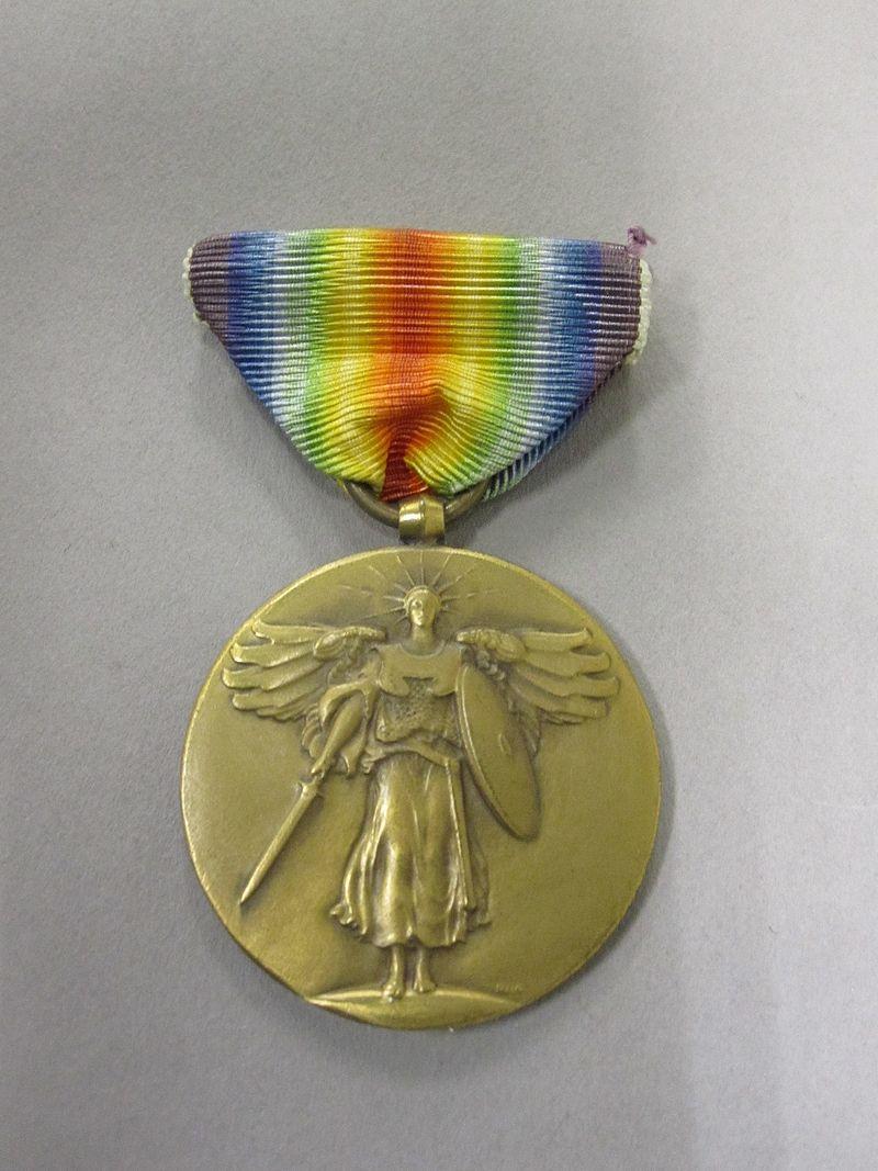 88-249-A Medal, Victory, World War I, Obverse (5227114078).jpg