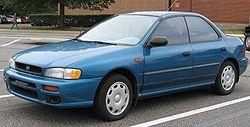 1997-2001 Subaru Impreza sedan (US)