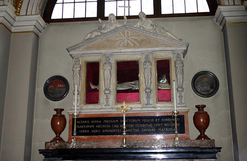 File:9893 - Milano - Sant'Ambrogio - Cappella S. Savina - Foto Giovanni Dall'Orto 25-Apr-2007.jpg