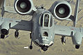 A-10 Thunderbolt II flies a close-air-support mission over Afghanistan .jpg