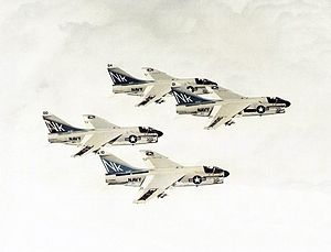 A-7E Corsair IIs VA-97 in flight 1978.jpg
