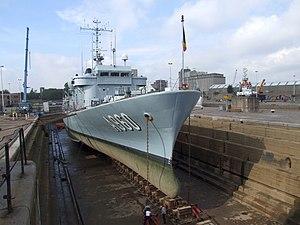 A960 in Drydock p3, Antwerp, Belgium.JPG