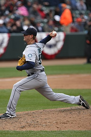 2004 Seattle Mariners season - In the fifth round the Mariners selected Mark Lowe.