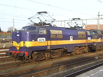 NS Class 1200 - ACTS 1255 at Amersfoort.