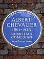 ALBERT CHEVALIER 1861-1923 MUSIC HALL COMEDIAN was born here.jpg