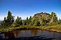 ALPINE LAKE AND BOULDER, DESCHUTES NATIONAL FOREST (23528794109).jpg