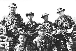 Army of the Republic of Vietnam Special Forces - ARVN and US Special Forces