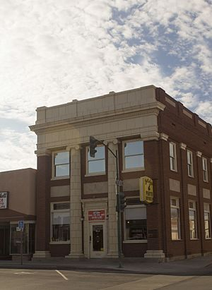 National Register of Historic Places listings in Graham County, Arizona - Image: AZ Bank and Trust 3