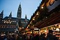 A Christmas festival near the Rathaus, Friedrich Schmidt Platz.Vienna, Austria, Western Europe.jpg