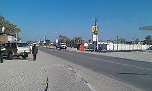Eenhana - A Main Street in Eenhana