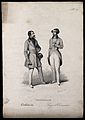 A man challenges another; exhibiting boldness, classed phren Wellcome V0009470EL.jpg
