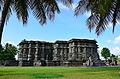A view of Kedareshwara Temple in Halebidu.jpg