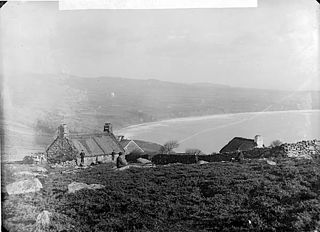 A view of Porth Neigwl from Y Rhiw