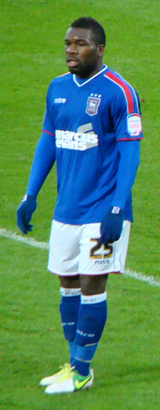 Aaron McLean - Playing for Ipswich Town in 2013