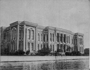 Kasımpaşa, Beyoğlu - Ottoman Ministry of the Navy (Bahriye Nezareti) in the Kasımpaşa quarter is currently the headquarters of the Northern Sea Area Command (Kuzey Deniz Saha Komutanlığı) of the Turkish Navy.
