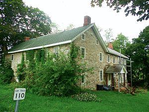 Abraham Elder Stone House - Image: Abe Elder stone house newer part