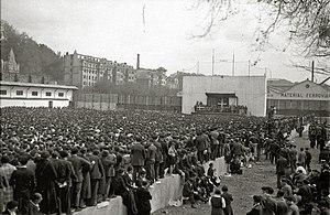 Aberri Eguna - 1933 Fatherland Day in Donostia (Gipuzkoa)