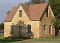 Abram Click farmstead house from SW 1.JPG