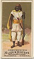 Abyssinia, from the Natives in Costume series (N16) for Allen & Ginter Cigarettes Brands MET DP834810.jpg