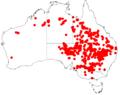 Acacia stenophyllaDistMap851.png
