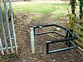Access point to country park, Greenvale Avenue, Elmdon - geograph.org.uk - 1770027.jpg