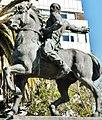 Acercamiento de la escultura del Monumento al Grito de Ascencio.JPG