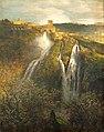 Achenbach Wasserfälle bei Tivoli@Weimar Schlossmuseum.JPG