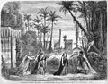 Act3 Tableau5 of 'La Flûte enchantée' at the Théâtre Lyrique 1865 (press illustration) - Gallica.jpg