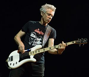 Adam Clayton - Clayton performing in Dublin in 2015