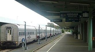 Adelaide Parklands Terminal - Image: Adelaide Parklands Rail Terminal