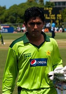Adnan Akmal Pakistani cricketer