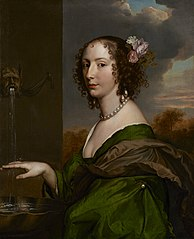 Portrait of Lucy Hay (ne Percy), Countess of Carlisle (1599 ? 5 November 1660)