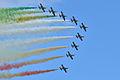 Aermacchi MB-339 Pattuglia Acrobatica Nazionale (PAN) Frecce Tricolori (9703107298).jpg