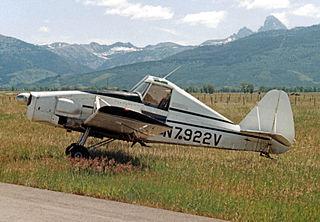 CallAir A-9 a single-seat agricultural aircraft