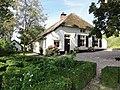 Afferden (Druten) Rijksmonument 14156 (vanaf de tuin) Waalbandijk 68.JPG