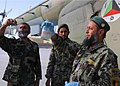 Afghan air force specialists check the fuel of an Afghan Mi-17 Helicopter.jpg