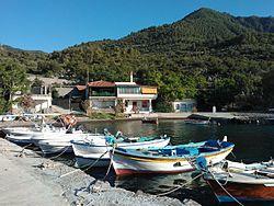 Small fishing port of Agios Nikolaos.