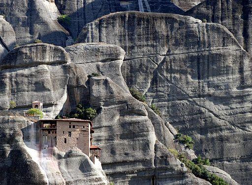 Meteora-Kloster Agios Nikólaos Anapavsás/ Agios Nikolaos Anapafsa (UNESCO-Welterbe in Griechenland)