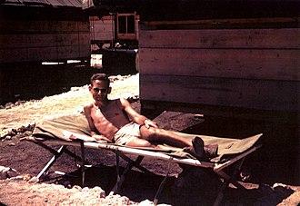 Robert Serber - Serber on Tinian in 1945, just before the bombings of Hiroshima and Nagasaki