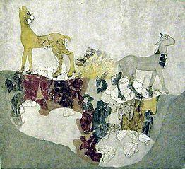 Τα Τετράποδα (τοιχογραφία)