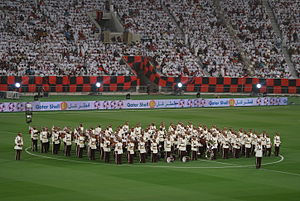 Football in Qatar - Al Rayyan SC has one of the largest fan bases in the country.