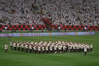 Al-Rayyan SC - Al Rayyan fans in an Emir Cup final.