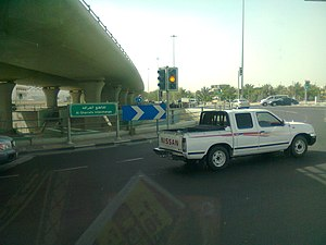 Al Rayyan - Al Gharafa interchange in Al Rayyan.