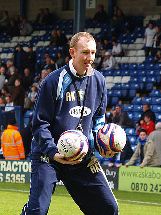 Alan Knill - Knill as manager of Bury in 2008
