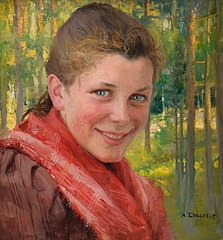A Girl from Porvoo (A Farmers Daughter from Uusimaa)