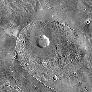 tholus on Mars