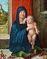 Albrecht Dürer - Madonna and Child (obverse) - Google Art Project.jpg